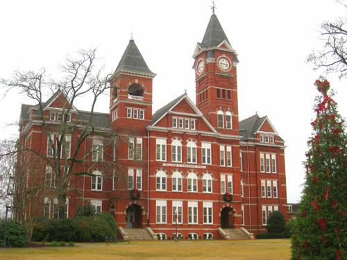 Auburn University Best INTP Schools