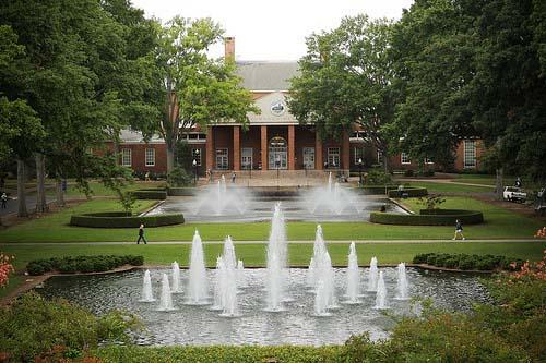 Furman University Best INTJ School