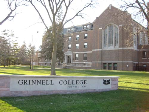 Grinnell College Best INTJ School