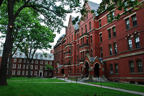 Harvard University Best INTJ School