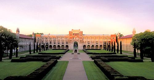 Rice University Best INTJ School