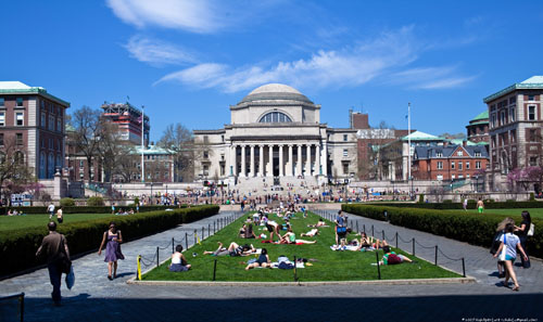Columbia University Best ENTJ Colleges