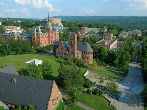 Cornell University Best ENTJ Colleges