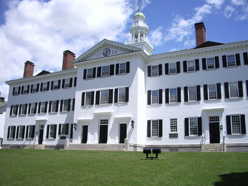 Dartmouth College Best ENTJ Colleges