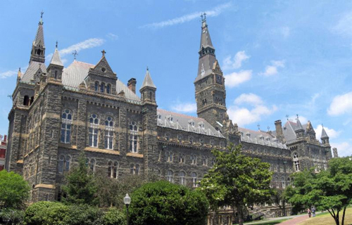 Georgetown University Best ENTJ Colleges