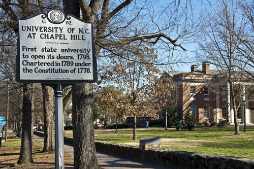 University of North Carolina Best ENTJ Colleges