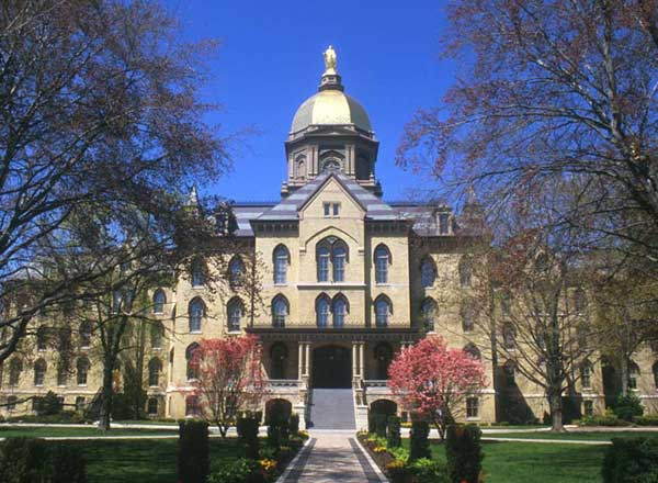 University of Notre Dame Best ENTJ Colleges