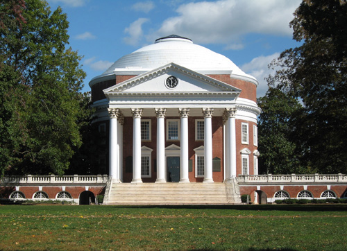 University of Virginia Best ENTJ Colleges