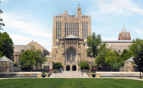 Yale University Best ENTJ Colleges