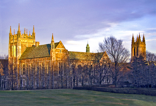 Boston College Best Small Colleges for INFJ
