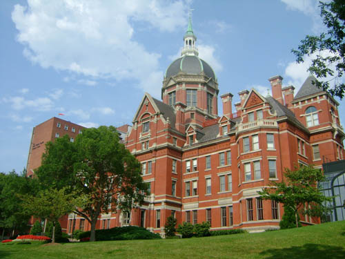 Johns Hopkins University Best Small Colleges for INFJ