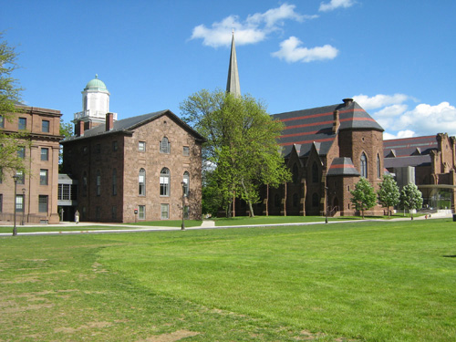 Wesleyan University Best Small Colleges for INFJ