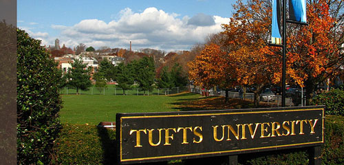 Tufts University Best School for ISTJ