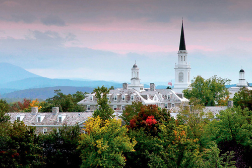 Middlebury College Best ESTP College