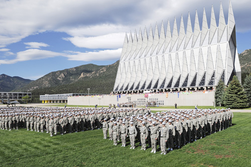 US Air Force Academy Best School for ISTJ