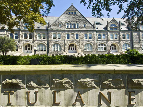 Tulane University Best School for ENFJ Personality